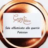 Sale pakistano affumicato alla quercia